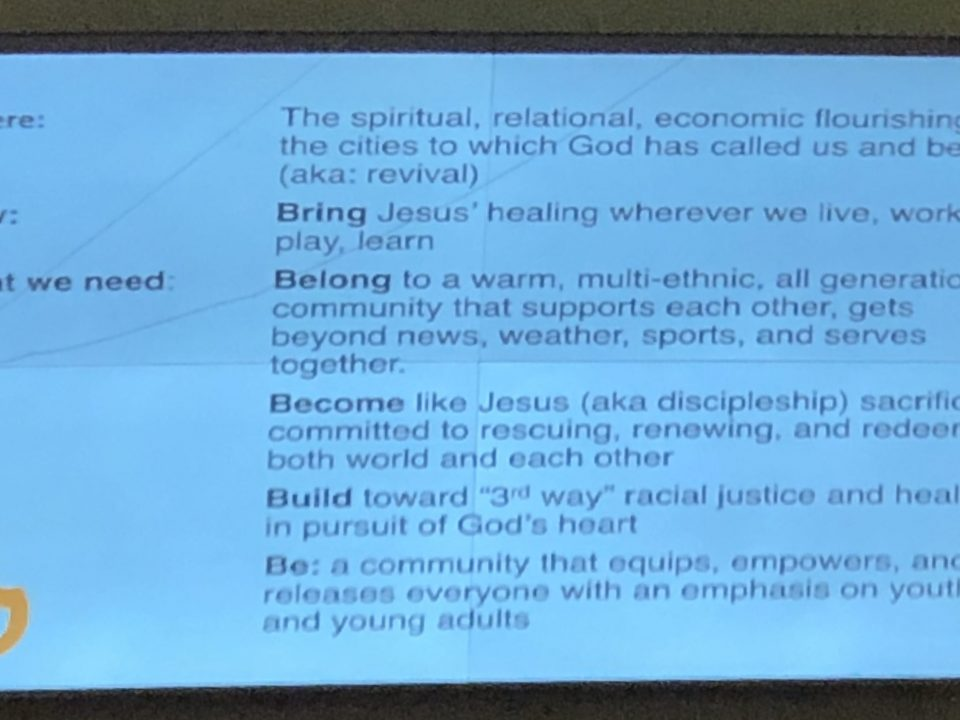 Updated Mission Statement from Bel Pres Church